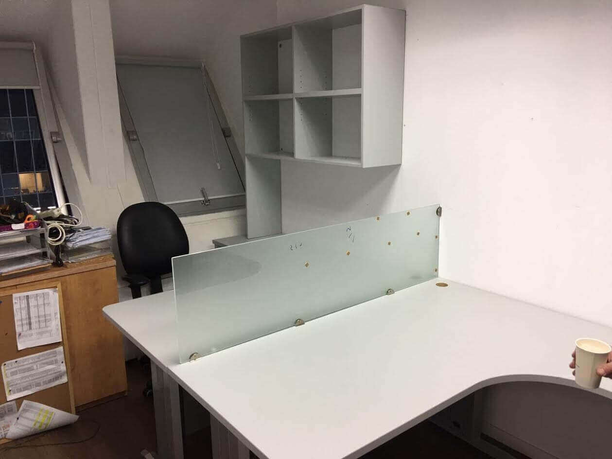 שולחן מזכירה דגם DH