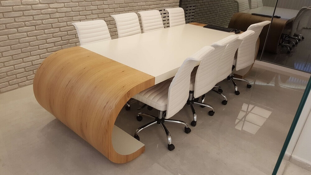 שולחן ישיבות דגם BAY