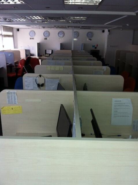 מחיצה למשרד מעץ דגם KJ