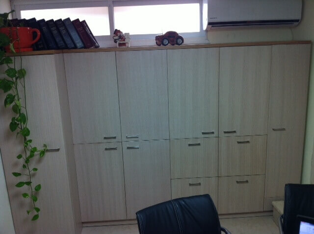 ארון משרדי עץ דגם LAA
