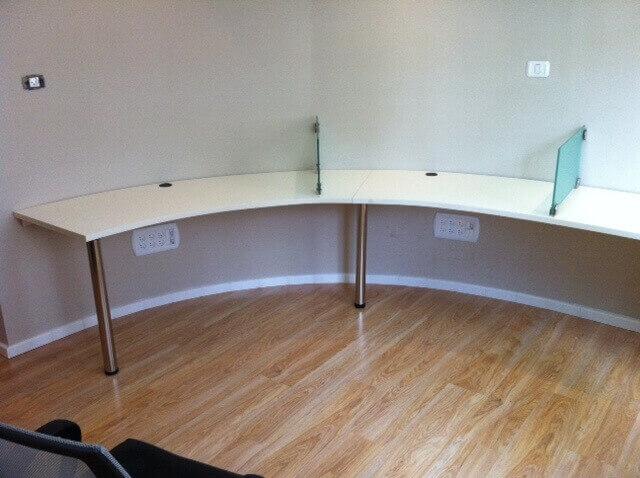 שולחן משרדי דגם DD