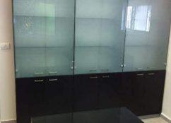 ארון משרדי עץ דגם LAW