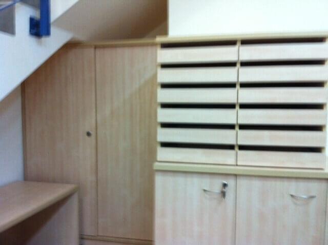 ארון משרדי עץ דגם LJ