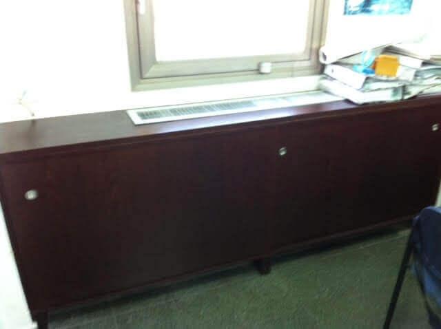ארון משרדי עץ דגם LAM