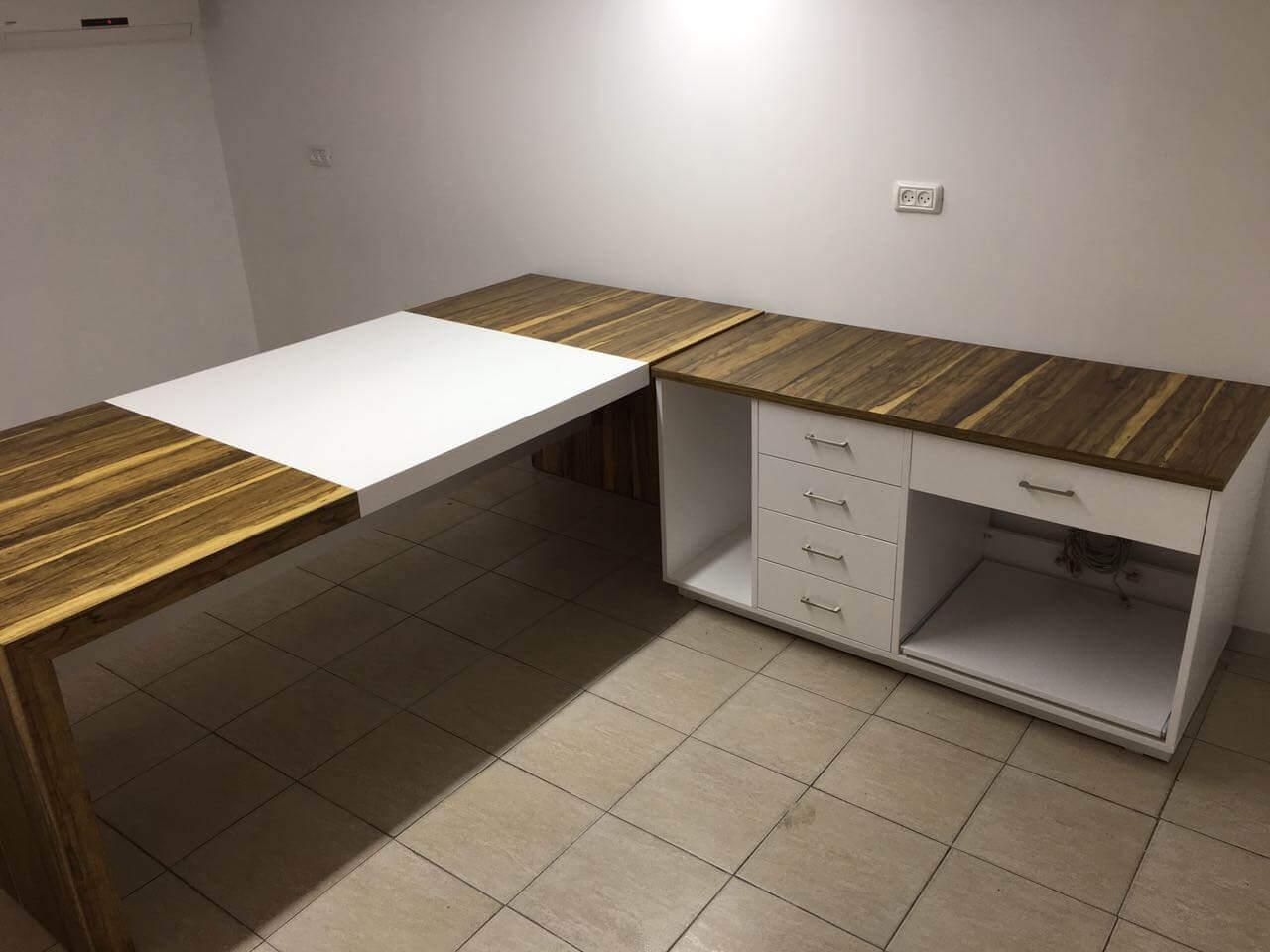 ארון משרדי עץ דגם LAI