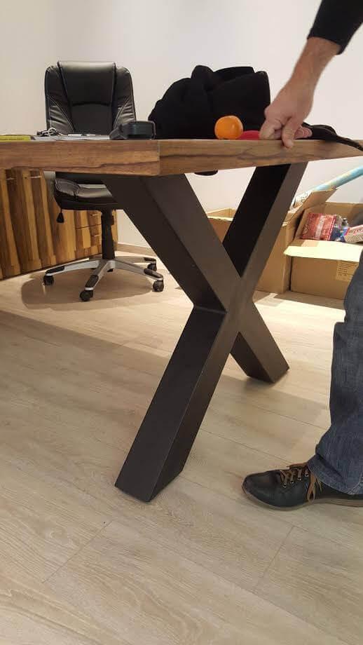 רגל מתכת לשולחן דגם MC