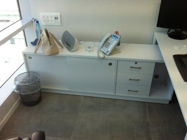 ארון משרדי עץ דגם LAC
