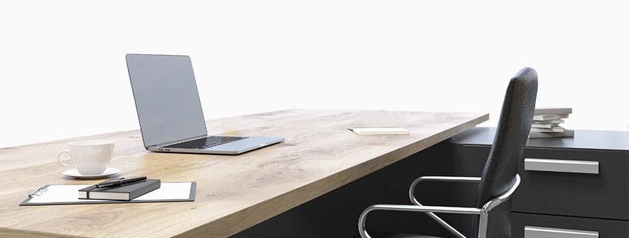 ריהוט משרדי - שולחן מנהלים